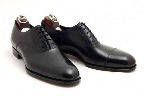 Gaziano and Girling Brand New Gaziano and Girling Oxford - Black Calf Leather