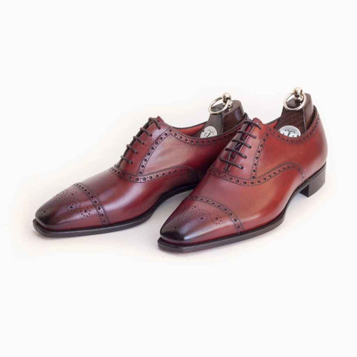 Gaziano and Girling Brand New Gaziano and Girling St James II made on the TG73 last-Vintage Cherry Calf