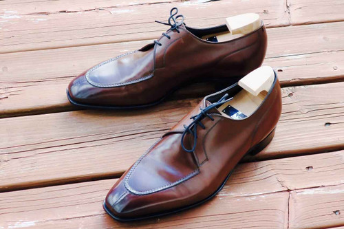 Gaziano and Girling Gaziano and Girling Hove made on the MH71 last- Brown Calf Leather- Preowned
