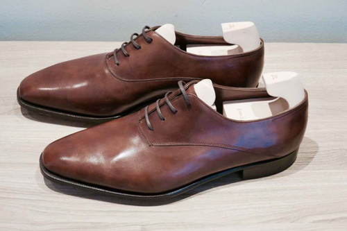 John Lobb Brand new John Lobb Becketts from the Prestige Collection - in Parisian Brown Museum Calf