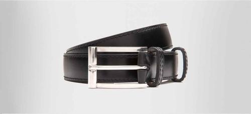 JM Weston Brand new JM Weston Leather Belt- Black