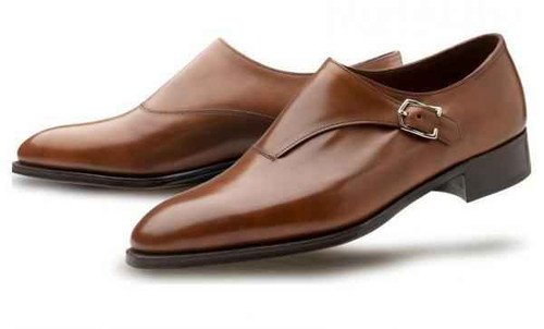 John Lobb Brand New John Lobb Jermyn III Prestige Collection-in Parisian Brown Misty- 7000 Last