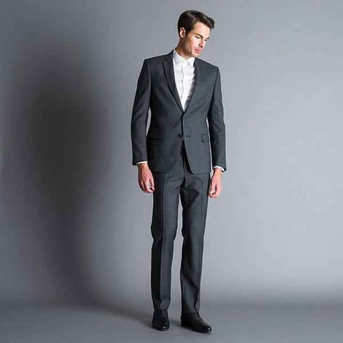 Versace Brand New With Tags Versace Charcoal Suit - Mens clothing