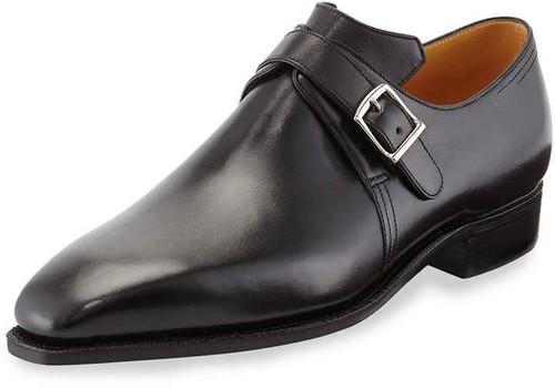Corthay Brand New Corthay Arca Boucle Black Calf Leather