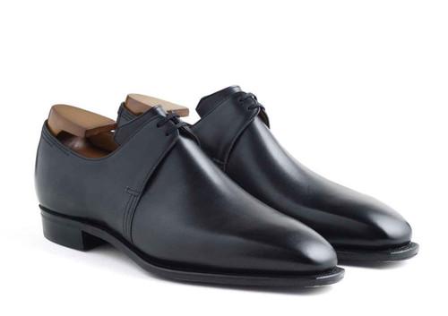 Corthay Brand New Corthay Arca Derby Black Calf Leather