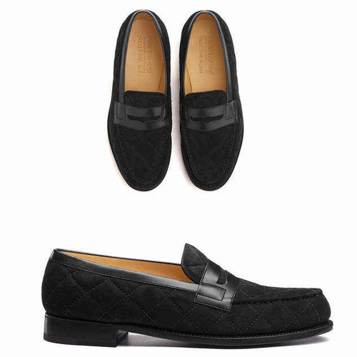 JM Weston Brand new JM Weston 180 loafers Casely Hayford Limited Edition - Black