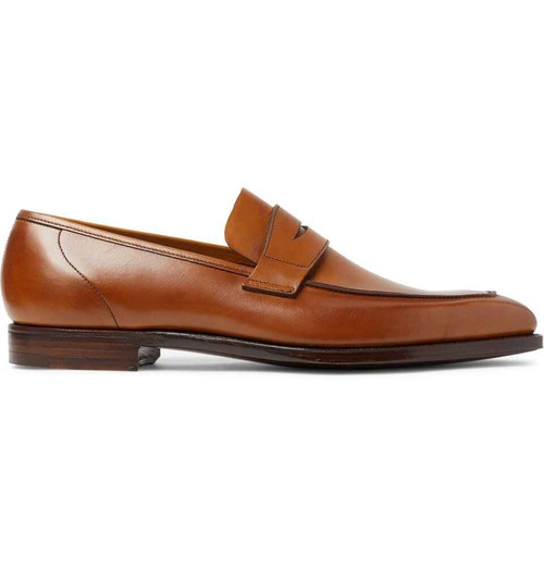 Cleverley Brand new George Cleverley George Loafers - Brown leather