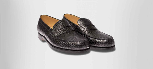 JM Weston Brand new JM Weston 180 loafers- Black Alligator