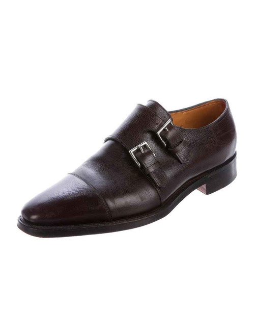 John Lobb John Lobb Derwent Brown Buffalo Meleze Leather