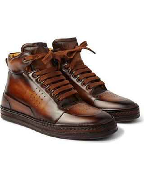 Berluti Brand new Berluti Playtime Scritto venezia Leather