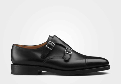 John Lobb Brand new John Lobb William - in Black Calf Leather