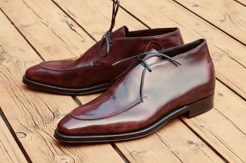 Brand New Maison Koly X Enzo Bonafe - Nimba Boots- Plum Museum Maison Koly thestylerush.com