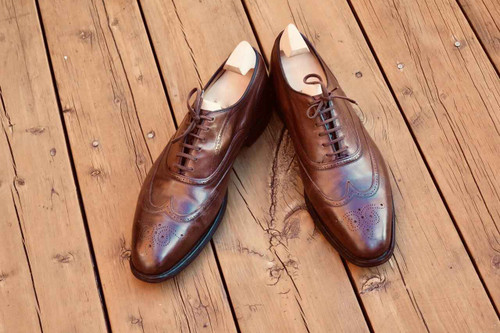 Churchs Churchs Handmade James Bond Wingtip Oxford Brown