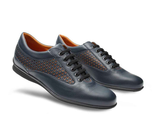 John Lobb Brand New John Lobb ASTON MARTIN Limited Edition - Baltic blue Calf