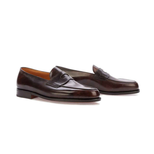 John Lobb Brand New John Lobb Lopez- in Dark brown museum Calf