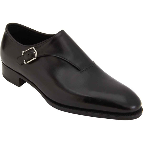 John Lobb Brand New John Lobb Jermyn III Prestige Collection in Black Misty- 7000 Last