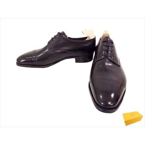 John Lobb Brand New John Lobb Philip II Derby - Prestige Collection- Black Calf- 7000 Last