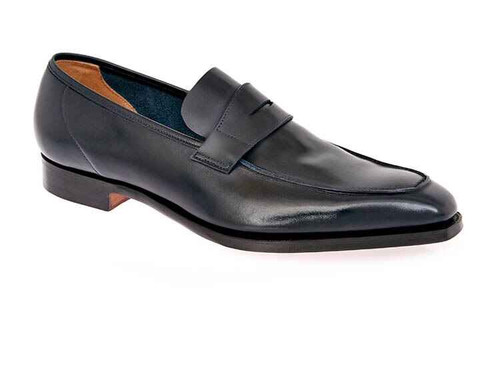 Cleverley Brand new George Cleverley Loafers - Navy leather