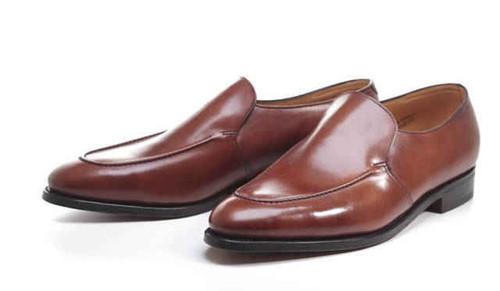 John Lobb Brand New John Lobb Evesham Loafers - Chestnut misty