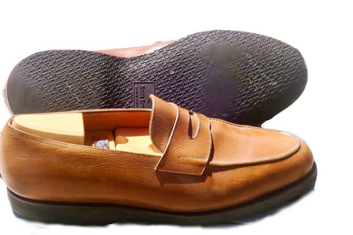 John Lobb John Lobb Lopez- Brown buffalo leather
