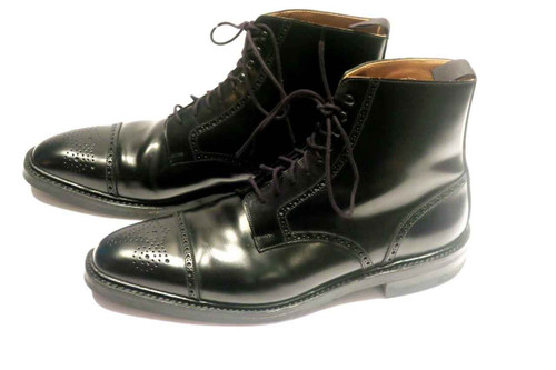 Cleverley George Cleverley Boots - Black Leather