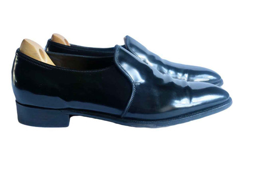 John Lobb John Lobb Edward- Prestige Collection- Black Patent leather