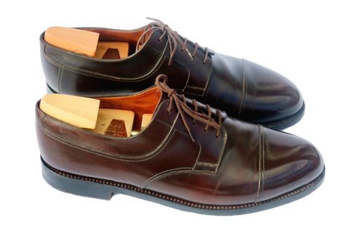 JM Weston Handmade 765 Derby - Brown calf Leather