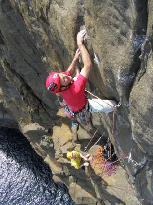 Technical multi pitch climbing skills