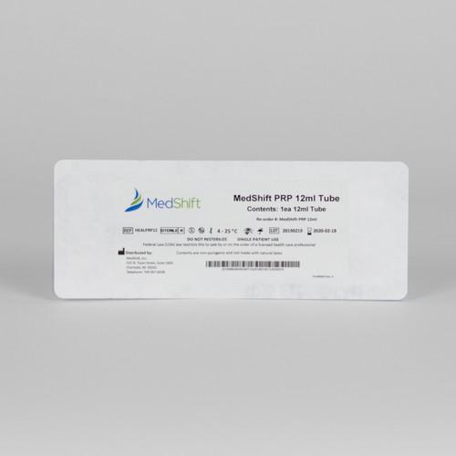PRP Gel Separator Tubes- 12mL | FDA Cleared