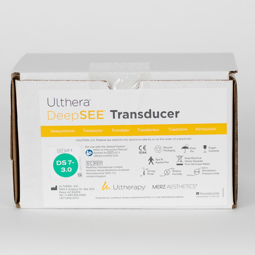 Ultherapy DeepSEE DS 7-3.0 (Green) Transducer