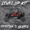 "Polaris RZR 2 Seat 1000XP ""Level Up"" Tender Swap Kit (2014-2021) Due to ship 12/15"