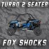 RZR TURBO - 2 SEATER W/ FOX ONLY TENDER SPRING SWAP KIT
