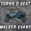 RZR TURBO 2 SEATER W/ WALKER EVANS TENDER SPRING SWAP KIT