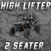 2 SEAT RZR  HIGH LIFTER TENDER SPRING SWAP KIT