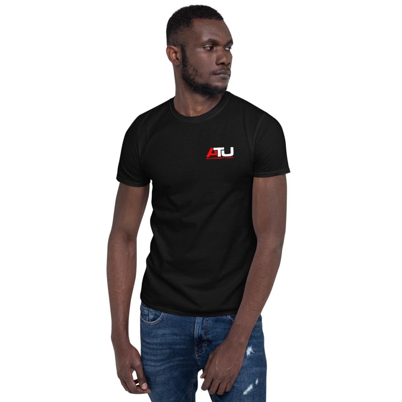 ATU Block logo Unisex T-Shirt (dark)