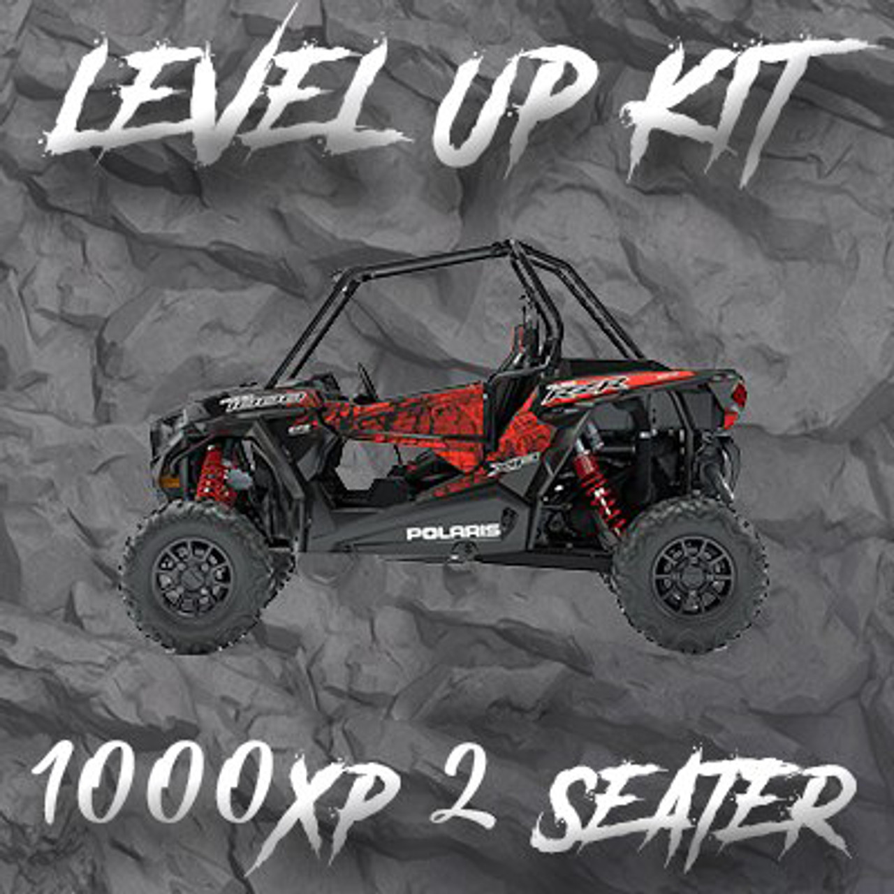 "Polaris RZR 2 Seat 1000XP ""Level Up"" Tender Swap Kit (2014-2021) Due to arrive 1/29/21"