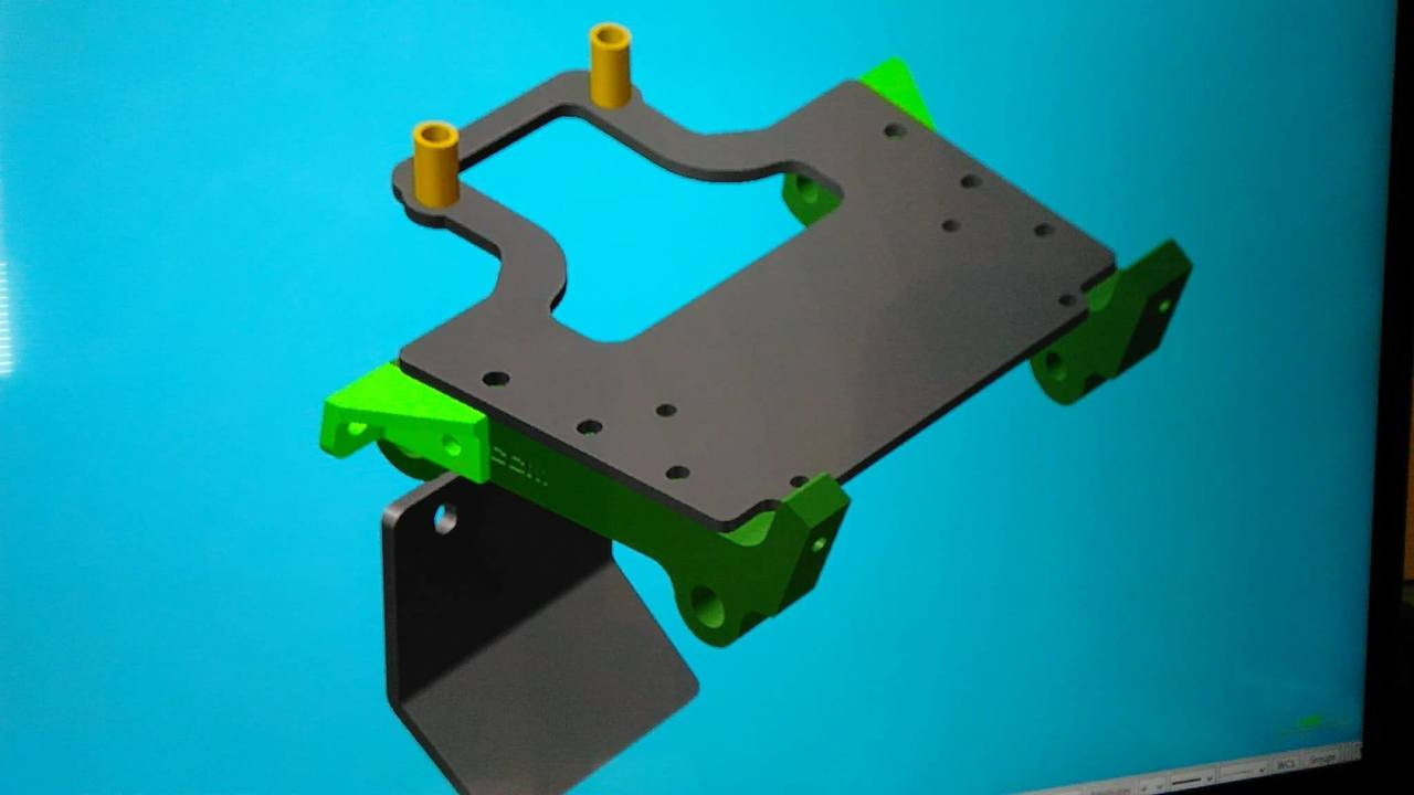 OPTIONAL BRACKET ALLOWS FOR WINCH MOUNT