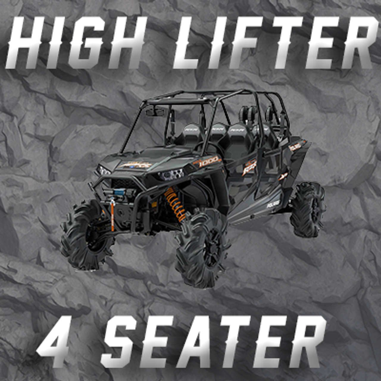 4 SEAT RZR HIGHLIFTER (RZR MODEL) TENDER SPRING SWAP KIT
