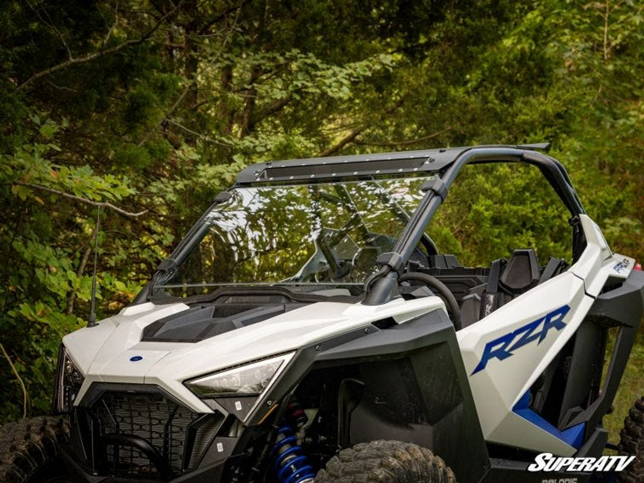 Polaris RZR PRO XP Scratch Resistant Full Windshield