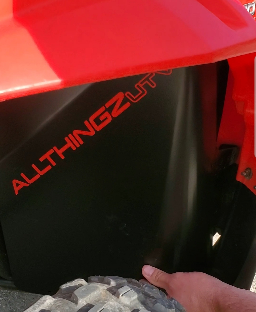 """RZR 170 Complete Protection Package Inner """"Defender Armor"""""""