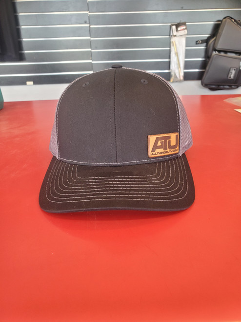 """All Thingz UTV """"ATU"""" Leather Latch Richardson 112 Snap Back Hat"""