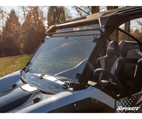 Kawasaki Teryx KRX 1000 Scratch Resistant Flip Down Windshield