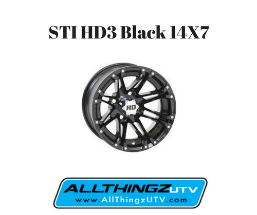 FREE SHIPPING **SET OF 4** A stylish addition to the proven HD Alloy wheel line: bold aesthetics and bulletproof performance are here. Low-profile center caps, perfectly matched to each finish, help the STI HD3 stand out and are included with every wheel. The HD3 is as tough as it is classy, boasting load ratings of 1000 lb.