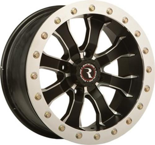 "Raceline's fully functional A71-Mamba Beadlock wheel 14x7, 20(14""/15"") Bolt Beadlock system"