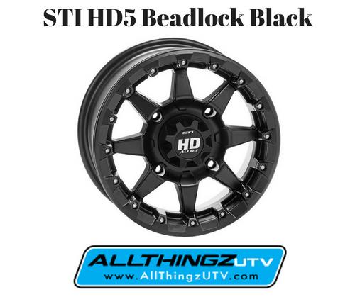 STI HD5 Beadlock (Black) 14x7 5+2