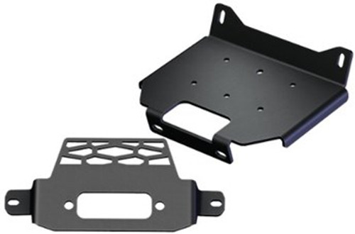 """Mount Designed to work with the following Winches: KFI: ST17 / A2500 / A3000 / U4500 / SE25 / SE35 / SE45 WARN: A2000 / A2500 / U2500 / 1.5ci / 2.5ci / 2.5ce / 3.0ci / 3.0ce / 3.0s WARN: RT15 / RT25 / RT30 / XT15 / XT25 / XT30 WARN: Vantage 2000-3000lbs / Provantage 2500-3500lbs RAMSEY : ATV2500 / ATV3000 SUPERWINCH : Terra25 / Terra35 / LT2500 / LT3000 MILE MARKER : PE2.5 / PE 3.5 / VMX2.5 / PE3500 CYCLE COUNTRY : Work Power 2500 / Powermax 2500 and 3500 BADLAND : 3000lb #68145 CHAMPION : C10013 / C10014 / C10018 / 10020 / 10024 / 12053 / 12503 / 13501(reqires rollers) / 14061 CHAMPION: 14001 and 14061 KEEPER CORP. TRAKKER : KT2500 / KT3000 / KT2500C / KT3000C SMITTYBILT : XRC 3.0 XGEAR: X3000 / X4000 - 4-Hole Standard (3.00"""" x 4.875"""" bolt pattern) VENOM: 2000 / 2500 / 3000 / 3500 (Hardcore Series) - All with 3.00"""" x 4.875"""" Bolt Pattern mount-up VENOM: 4500 / 5000 (Hardcore Series) - All with 3.00"""" x 4.875"""" Bolt Pattern mount-up Possibly Many others with the below standard Mounting patterns (call to confirm) - 4-Hole (3.00"""" x 4.875"""" bolt pattern with Rollers that are 4.875"""" bolt pattern) 2-HOLE MOUNTED WINCHES WITH A 3.10"""" BOLT PATTERN: - All 2-Hole Mounted Winches will Require the additional purchase of the Converter Mount #100480 - Requires a Fairlead with a 4.875"""" Bolt Pattern (available if needed #ATV-RF)"""