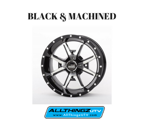Machined and Black