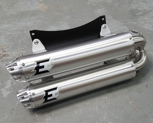 Empire Industries Can Am Maverick X3 Dual Slip On Exhaust
