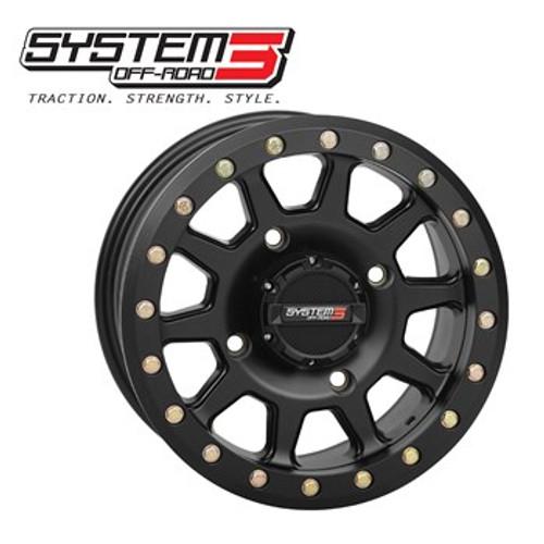 SYSTEM 3 OFFROAD  Beadlock UTV Wheel 14x7 5+2