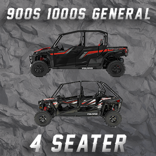 POLARIS RZR  900S4 & GENERAL 4 SEATER TENDER SPRING SWAP KIT
